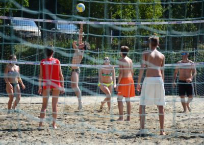parco piscina di montombraro: area sport, beach volley
